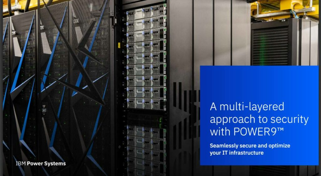 IBM Power9 systems for IT infrastructure