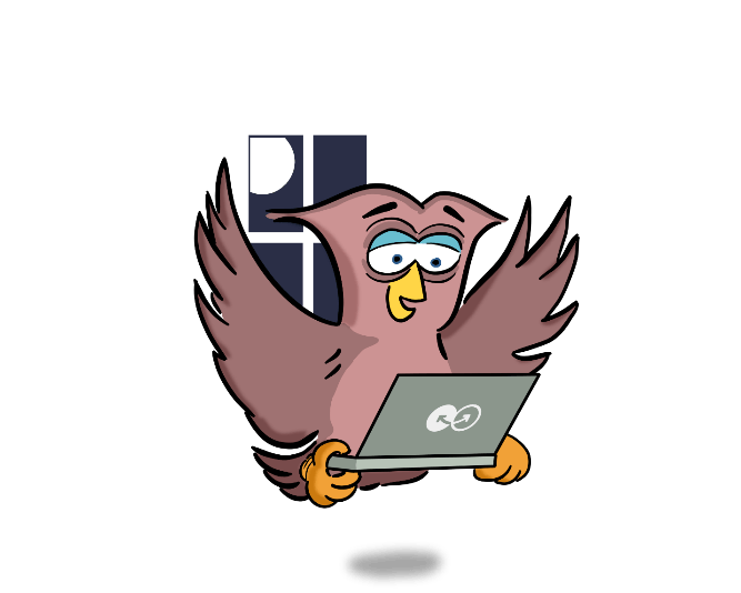 Night owl with Pierson IT laptop