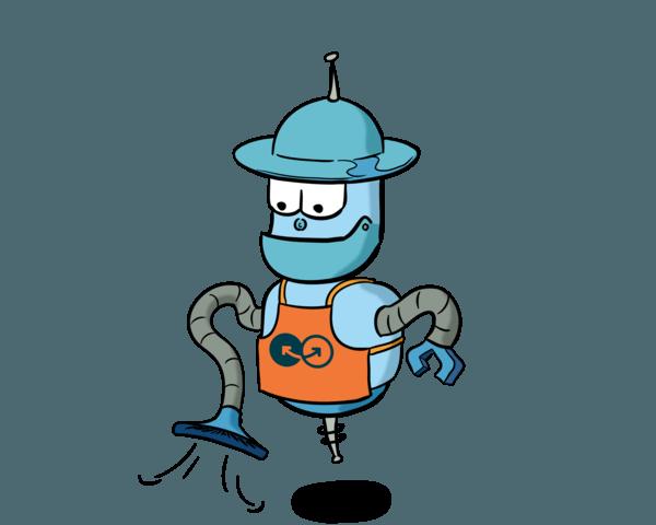 Pierson robot graphic