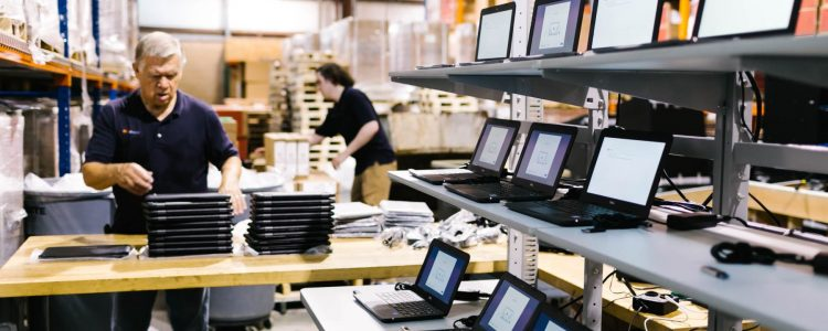 IT configuration setup for business laptops